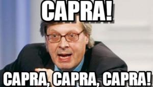 VUOI MIGLIORARE? TORNA AD ESSERE UNA CAPRA!!!